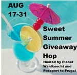 Sweet Summer Giveaway Hop