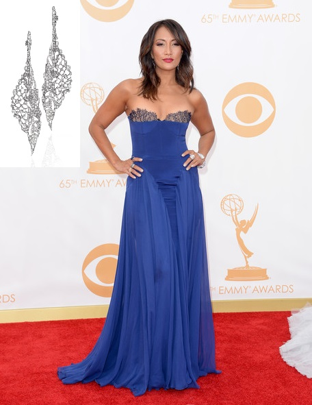 Emmy Style 2013 Carrie Anne Inaba Emmy Awards