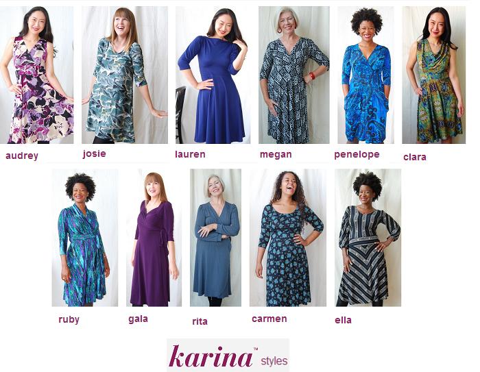 Karina Dresses Styles