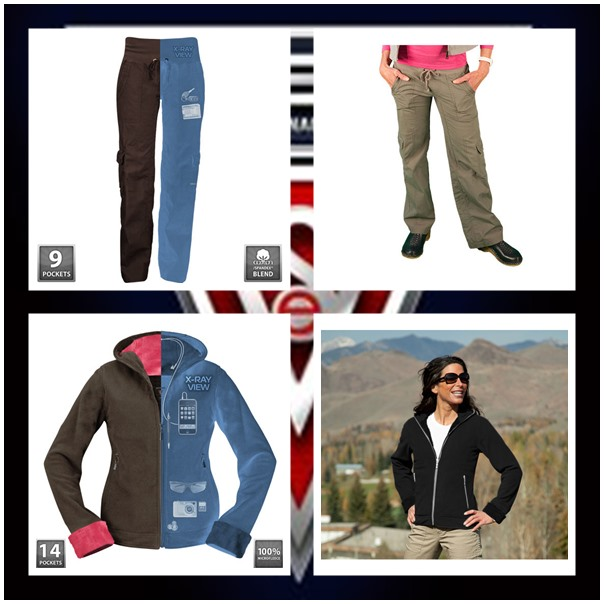 Scottevest Chloe hoodie and Margaux cargaux pants