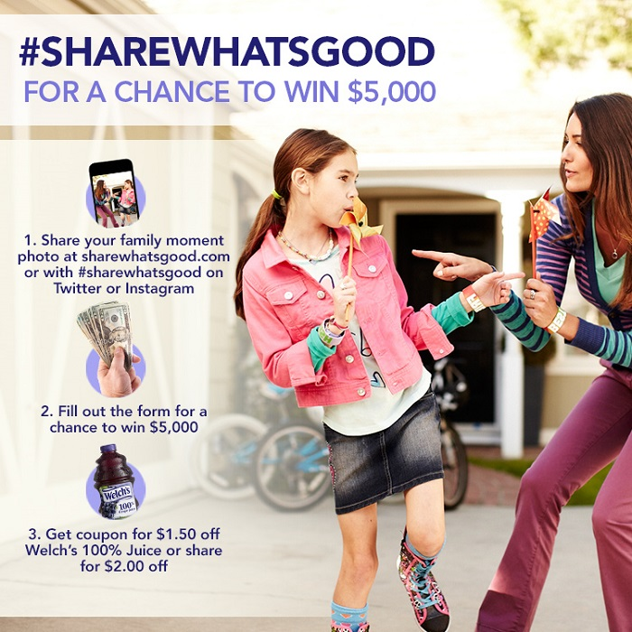 Share your Moments Share What's Good