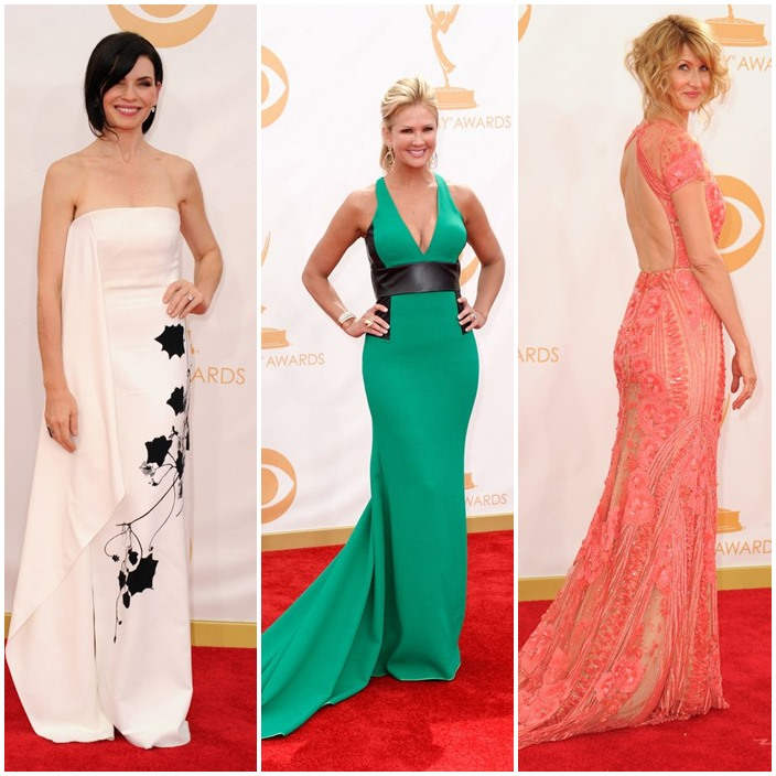 emmy Style 2013 Julianna Marguiles 47 Nancy o'dell 46 Laura Dern 46