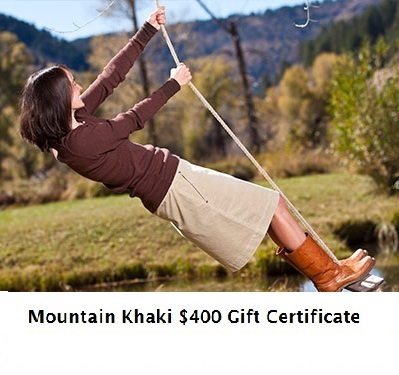 Fashionista Events Mountain Khakis