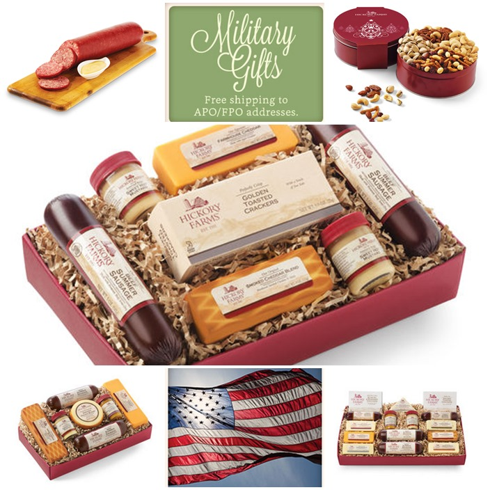 HIckory Farm Military Gifts