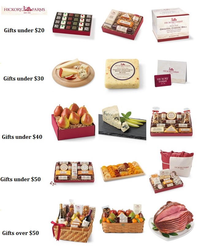 Hickory Farm Variety Gifts