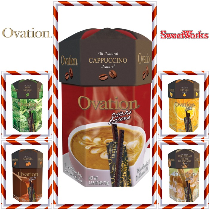 Ovation Sticks Chocolate Candy