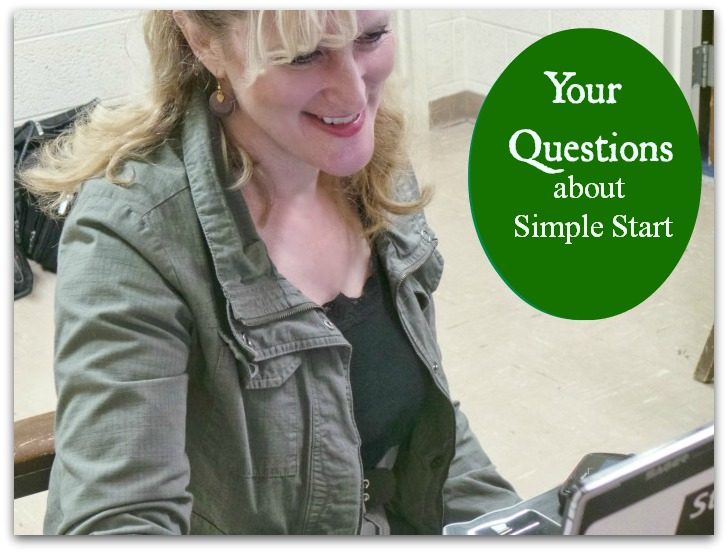 Your Questions about SImple Start #SimpleStart