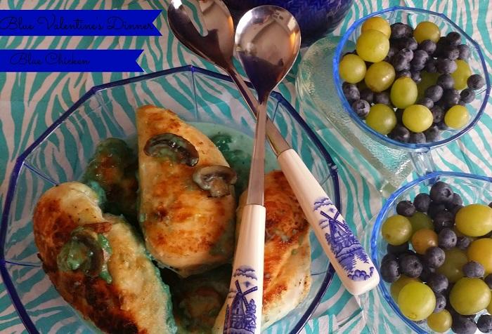 Blue Chicken Blue Valentines dinner #Valentines4All #shop  #cbias