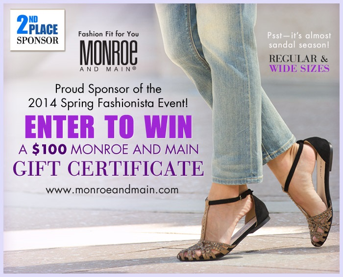 Monroe and Main Fashionista Events Sponsor 2