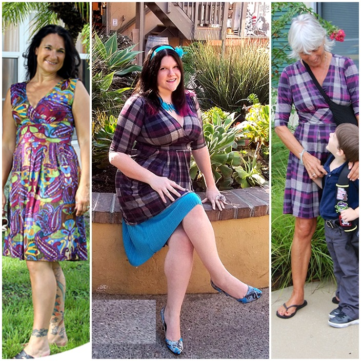 Penelope Karina Dress Mad for plaid 2