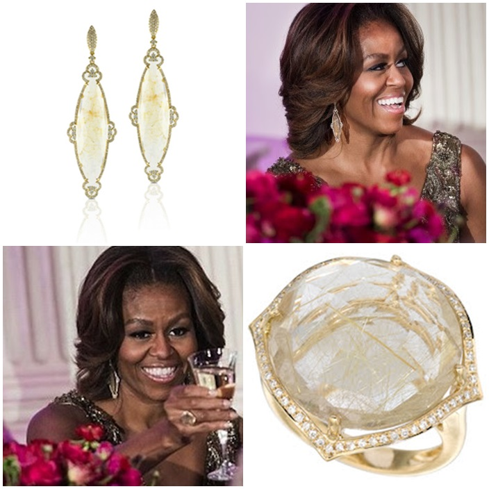 Michelle Obama Doves by Doron Paloma Ring