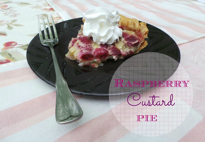 Raspberry Custard Pie Recipe