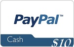 10 paypal gift card