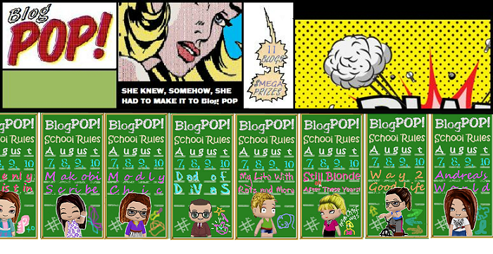 "Blog Pop ""School Rules"" Giveaway Master Linky"