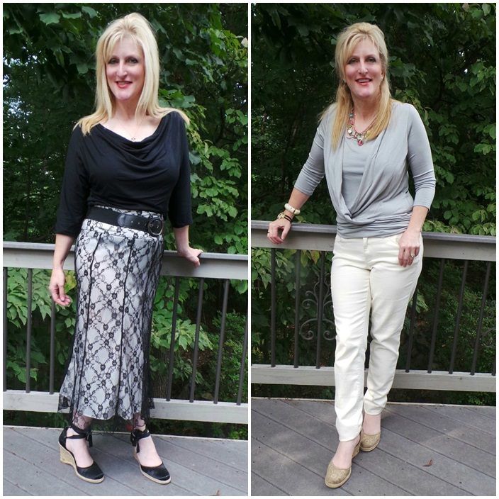 Tops for Women over 40 Covered Perfectly