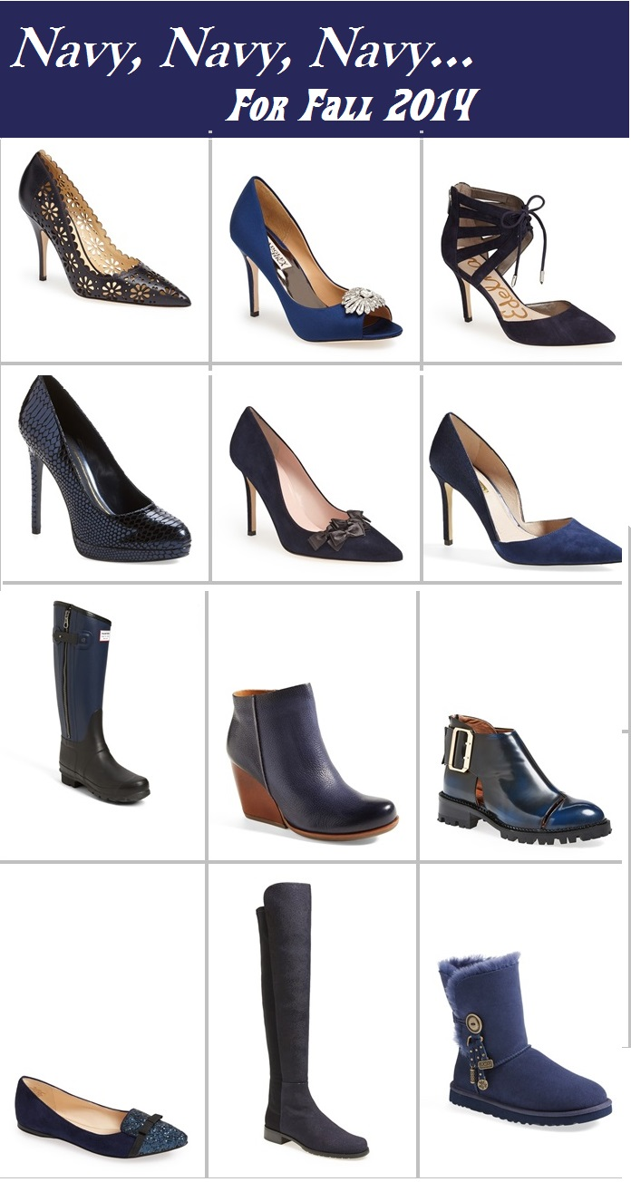 navy shoes for fall