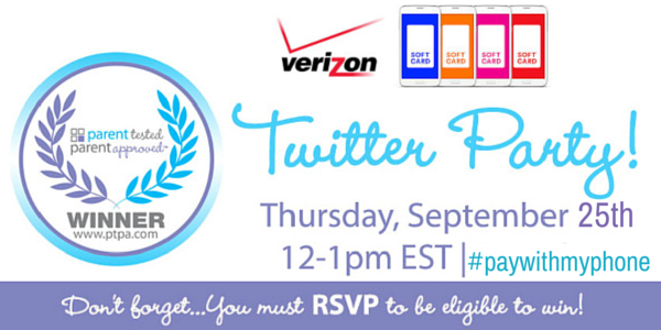 Verizon softcard Twitter party