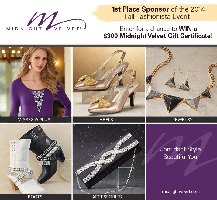Fall Fashionista Events Giveaway 2014
