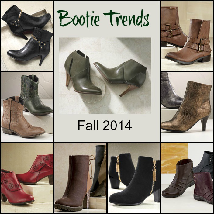Midnight Velvet Bootie Trends for fall 2014 Still Blonde after all these years