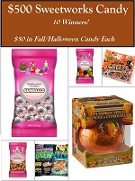 Sweetworks fall Giveaway Fashionista Events