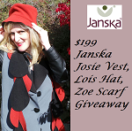 Josie Vest, Lois Hat, Zoe Scarf Janska