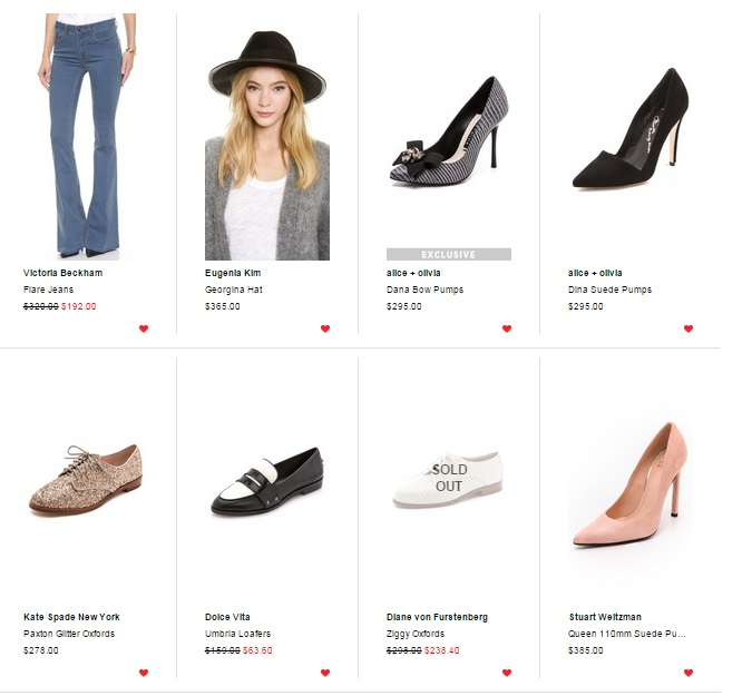 shopbop Black Friday Deals