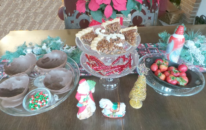 Chocolate Bowls Repurpose your Holiday Dessert Leftovers