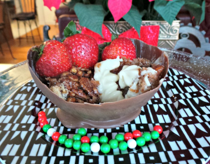 Chocolate Bowls Repurpose your Holiday Dessert Leftovers Marie Callenders
