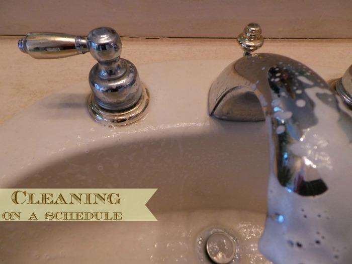 Clean Bathroom Scrubbing Bubbles