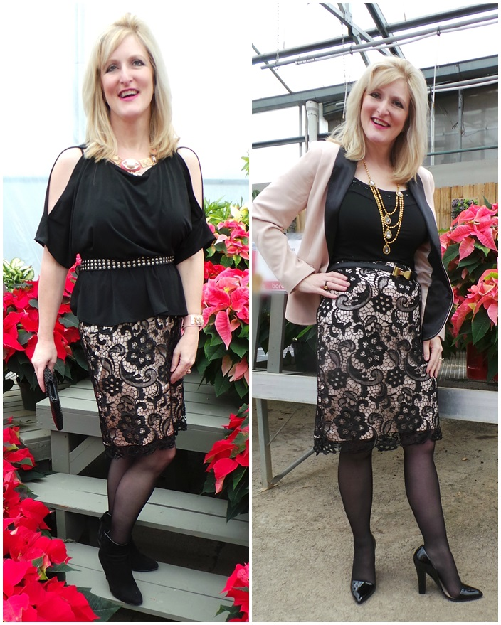 Monroe and Main Holiday 2014 Transitional Outfit Day to Night Outfit
