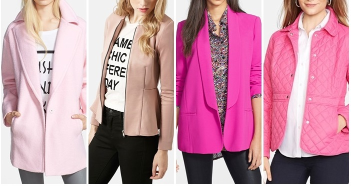 Pink Jackets  Nordstrom