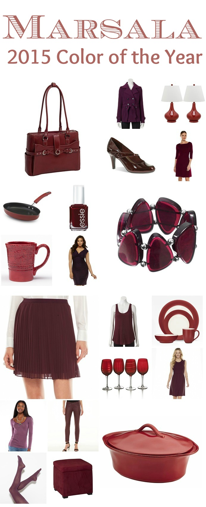 2015 PANTONE COLOR OF THE YEAR MARSALA Kohls #Yes2You #findyouryes