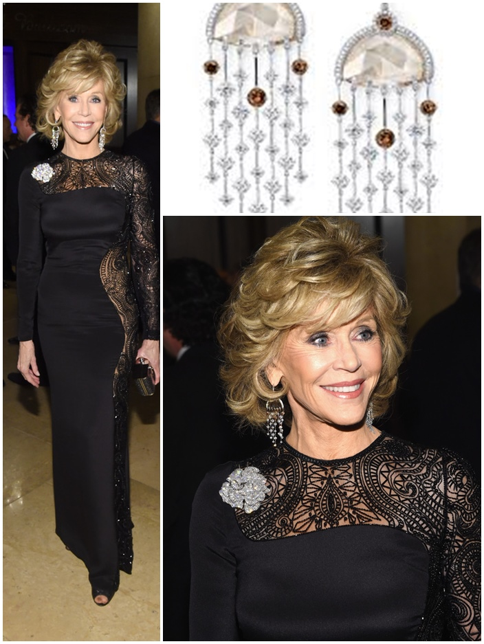 Jane Fonda Feb 2015 Hairstyles for Women over 45 50 60 70