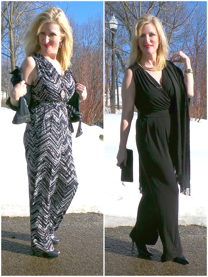 Kohls Jumpsuit Apt. 9 Women over 45 Shelley Zurek Still Blonde after all these YEARS