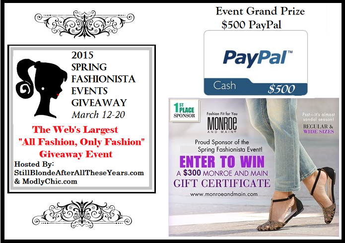 Spring fasionista events blog
