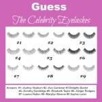 Sheena Sujan Celebrity False Eyelashes