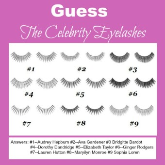 Celebrity False Eyelashes from Sheena Sujan