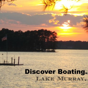 Summertime Boating on Lake Murray, South Carolina