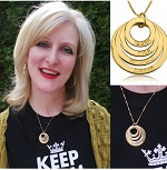 Onecklace Personalized Mothers Day Jewelry