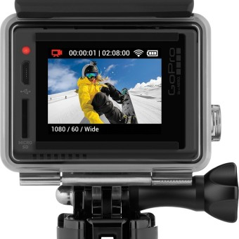 See What you are Living: Introducing GoPro HERO+ LCD