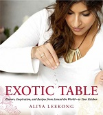 Aliya LeeKong Exotic Table Cookbook