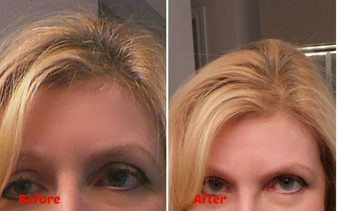 How do I cover Bald Spots? How to Cover Roots? Before Inprocess After Mason Reed Root Touch Up