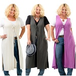 Charlie-a-Go-Go-Rhoda-Women_s-Plus-Size-Vintage-Style-Long-Vest-Tunic Fashion over 40