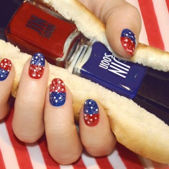 Veteran's Day Manicures Nail Art