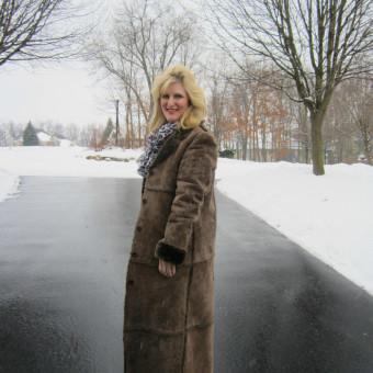 Winter Warm up Shelley Zurek Still Blonde after all these YEARS Women over 50