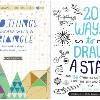 Get Creative: Adult Drawing Books and Adult Doodling Books