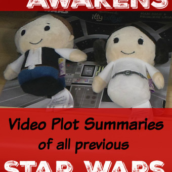 Video Star Wars Plot Summaries: Get Ready for the Force Awakens