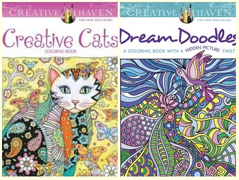 Creative Haven Creative Cats Dream Doodles