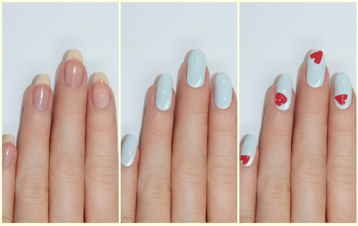 Modern Valentines Manicures Nail Ar