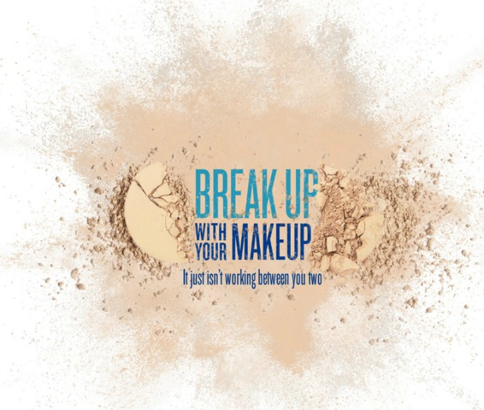 Break up with Makeup Galderma Soolantra